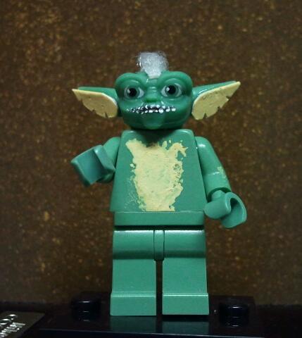 Custom minifig Gremlins 2!