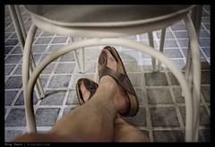 _X1_L1000967 copy (mingthein) Tags: life leica people food feet coffee relax cafe chair drink bokeh availablelight photojournalism malaysia pj restaraunt kuala kl ming slippers lumpur birkenstock x1 reportage onn thein photohorologer mingtheincom