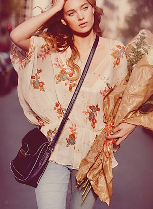 free people kite and butterfly tunic