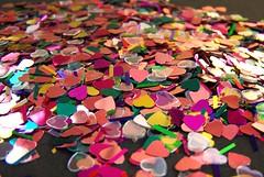 collected hearts (dominotic) Tags: pink green shiny pretty heart thethreeangelslevel3goldenangel level2silverangel artistoftheyearlevel2 artistoftheyearlevel3~platinumhalloffame