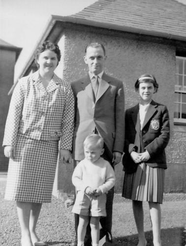 Norma Haggart and Alasdair Haggart 1961