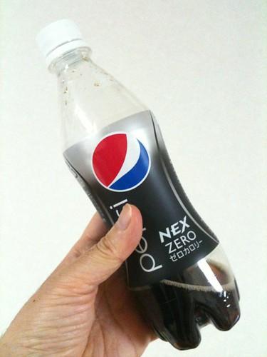 ペプシネックスのペットボトル