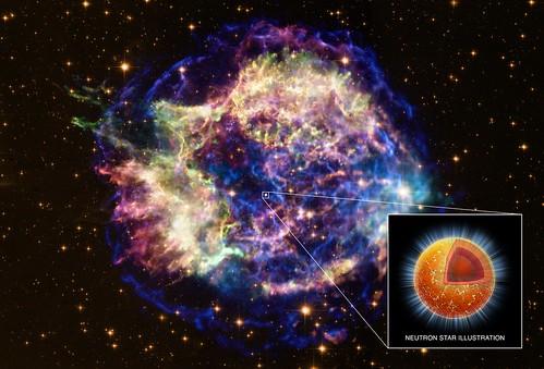 Superfluid in Neutron Star's Core (NASA, Chandra, Hubble, 02/23/11)