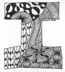 Tangle 007 (perfectly4med) Tags: tangle zentangle