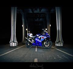 GSX-R 600 k5 (Antonin Douard) Tags: paris bike ride motorbike r moto motorcycle suzuki motogp bir gsx hamamatsu gp gsxr gsv akrapovic hakeim gsvr
