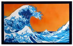 The Great Wave (Future Perfect Art) Tags: streetart painting japanese graffiti canvas urbanart spraypaint woodblock greatwave futureperfect
