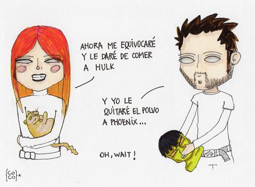 Hulk & Phoenix