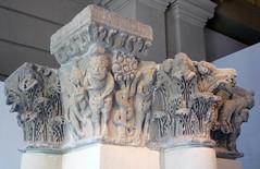Camarasa Historiated Capitals from the left