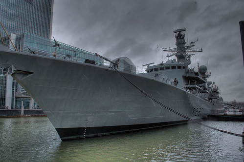 HMS Westminster - HDR version