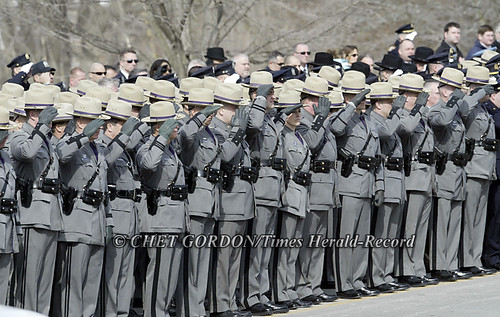 new york state police officer. New York State Troopers and