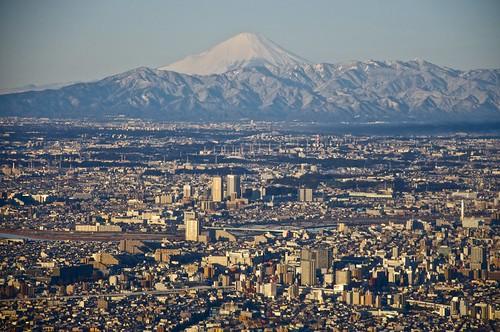 Tokyo is huge