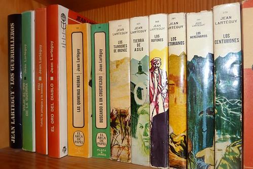 Libros de Jean Lartéguy en mi biblioteca