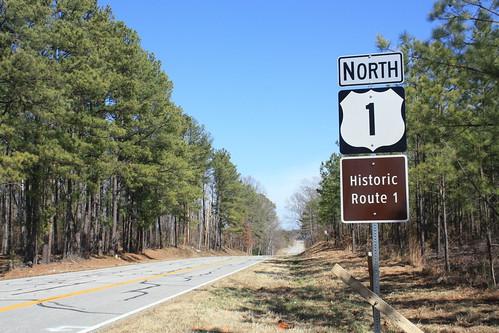 US 1 through Rural Virginia