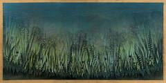 Neon Undergrowth (Mark Warrington) Tags: wood trees light art electric night forest artwork acrylic glow ditch alien dream midnight spraypaint gress gs80 markwarrington goldstitch gs80artwork goldstitchartwork markwarringtonartwork