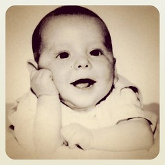 Earliest picture of me, about 6 months old. by ObieVIP