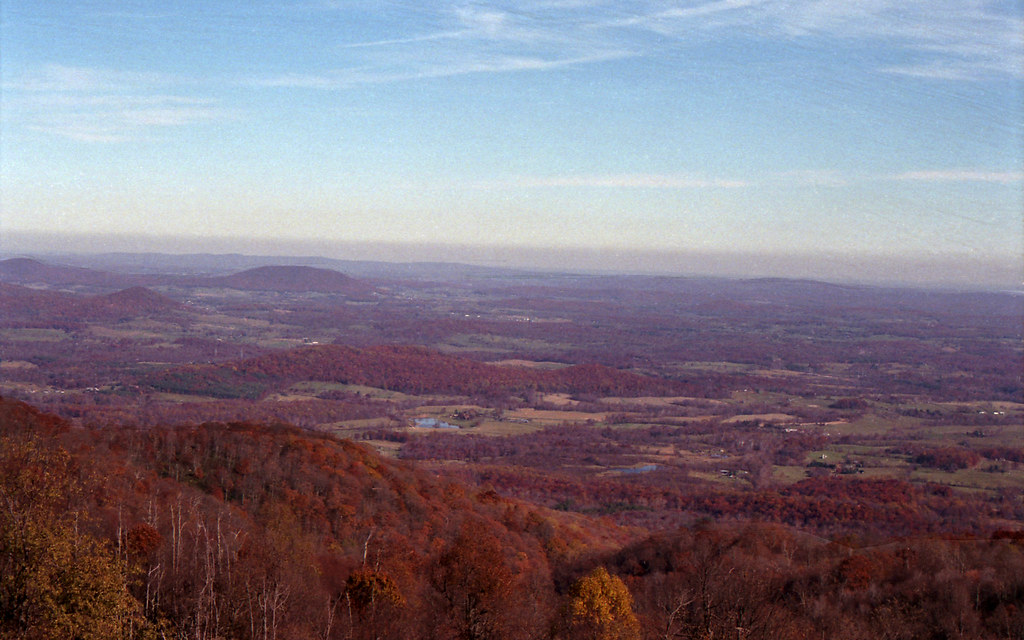 Skyline Drive, west view, late autumn