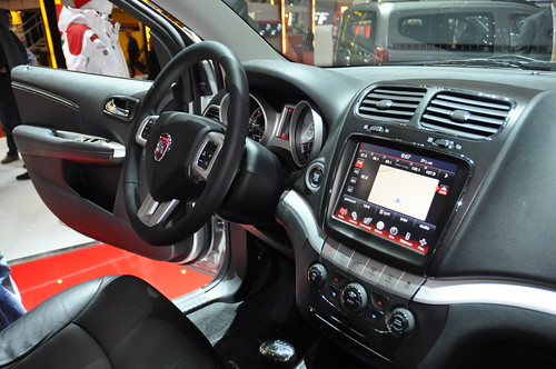 fiat freemont interior. Fiat Freemont interior