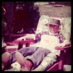 Me at thirteen. Chillaxin. by ObieVIP
