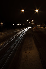 Lights will shine. (Oscar von Bonsdorff) Tags: street longexposure winter light car night canon espoo suomi finland studio lights vinter finnland pro talvi carlights photographing xsi roadlights canonefs1022mmf3545usm canon1022 esbo caratnight roadatnight lippajrvi canonefs1022 canon1022usm 450d canonefs 1022usm canonef1855 bemble 10223545 kehiii keh3 ringiii klapptrsk oscarvonbonsdorff gettyimagesfinlandq1