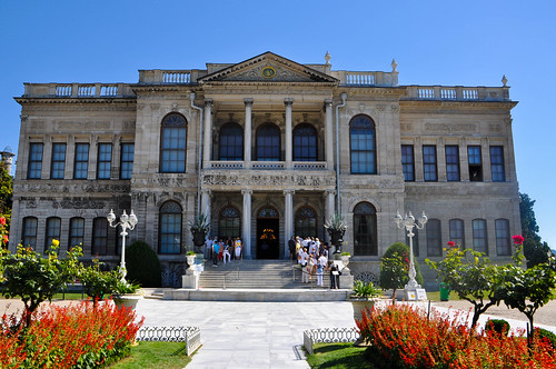 Exteriores del palacio