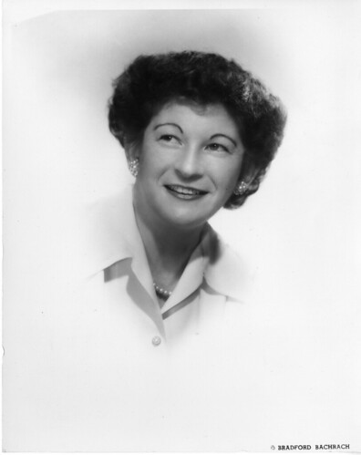 Marian G. Hogan, Date unknown, by Bradford Bachrach, Black and white photographic print, Smithsonian