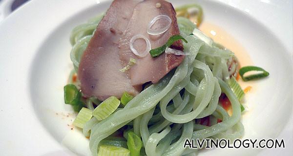 Abalone noodle