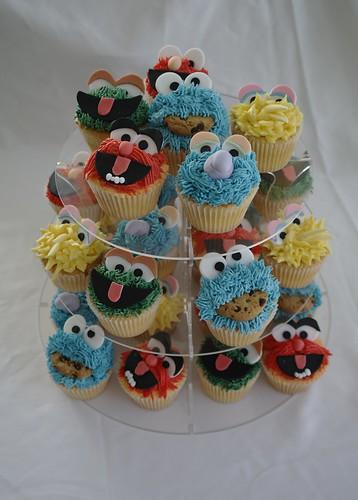 Muppet Cupcake Tower
