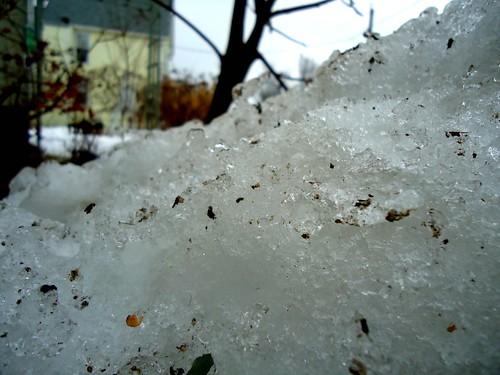 rotten snow