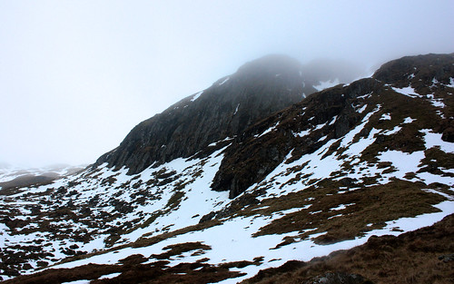 Buttress on Creag an Fhithich