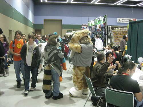 Furries at Lunch