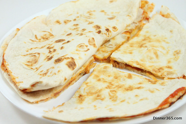 Day 67 - Chicken Quesadilla