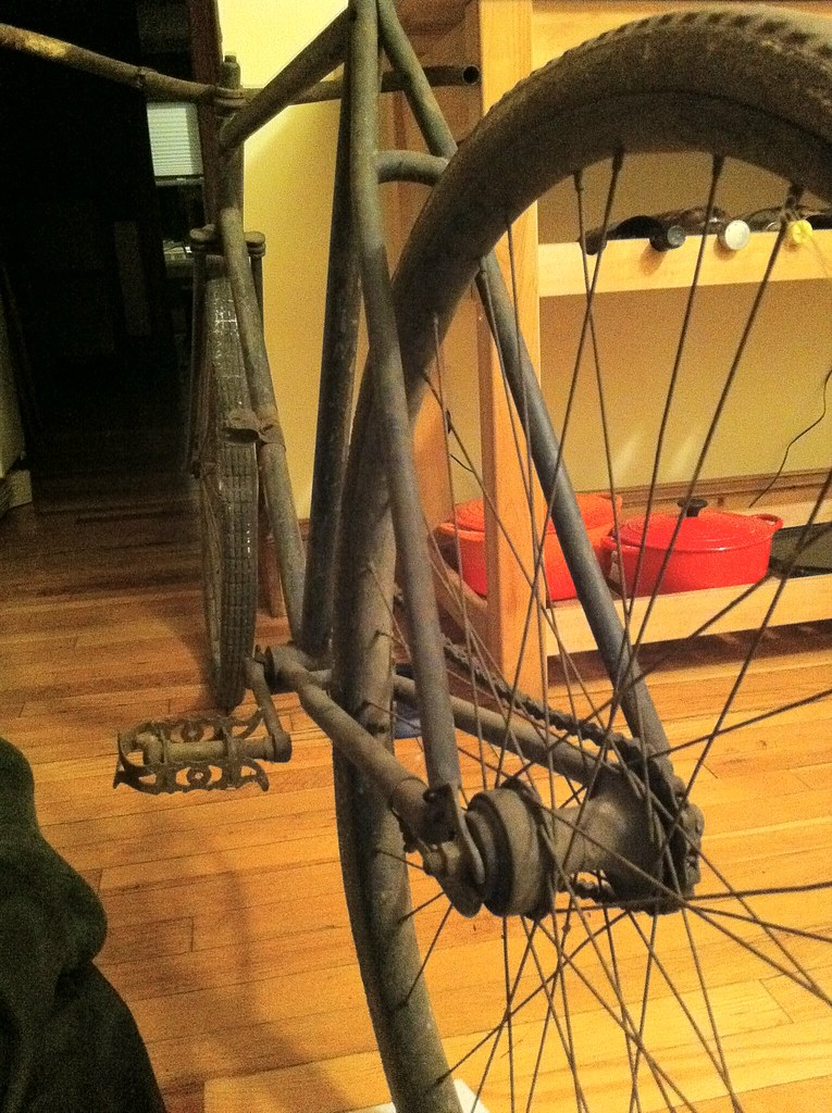 Please Help Me Identify My New Bike Wooden Rims Nov 3
