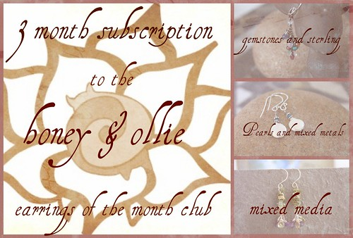 earring of the month club graphic