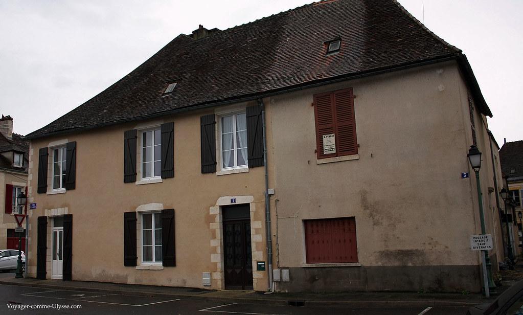 Une maison typique de la région