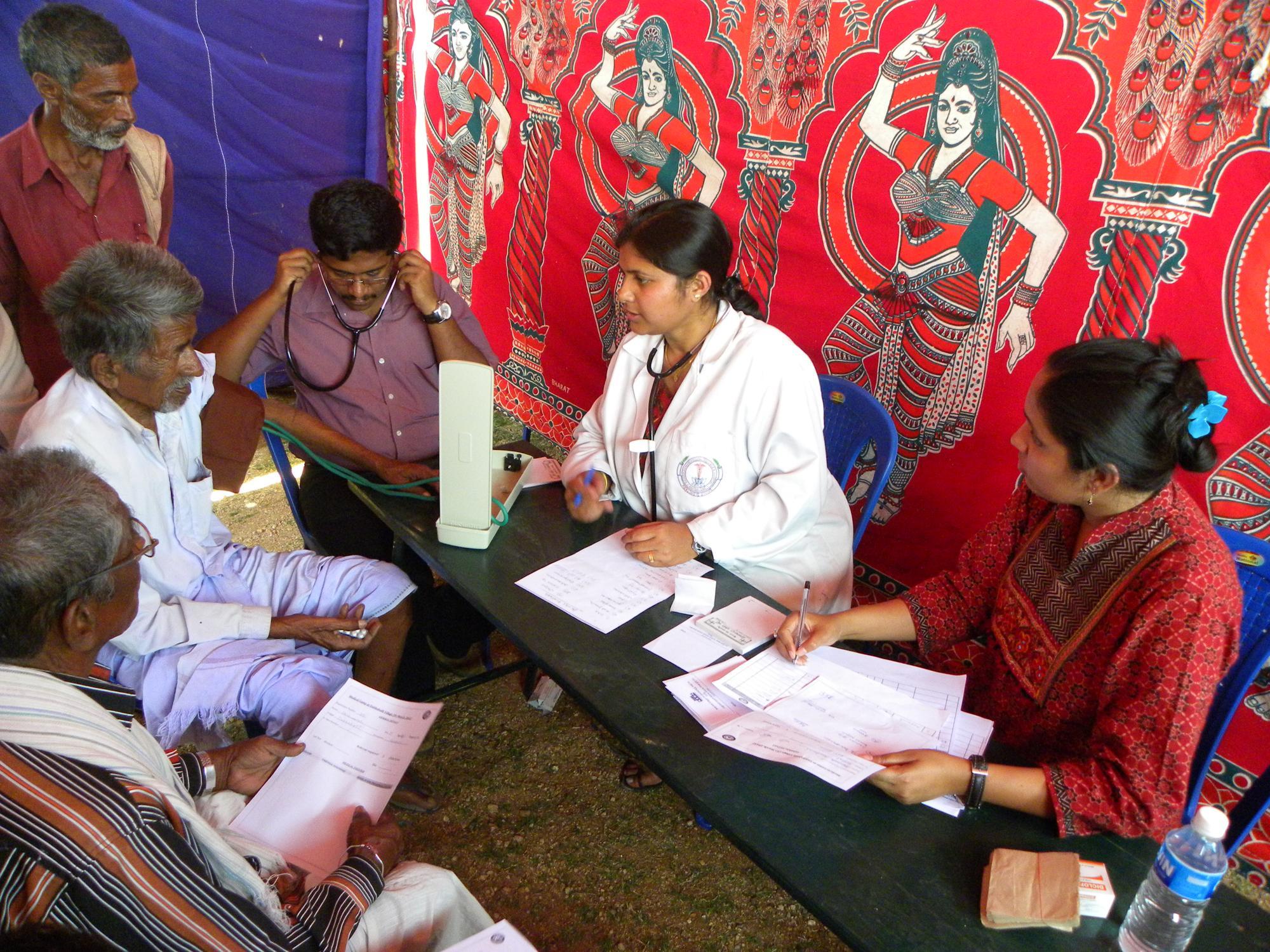 Medical camp at Dabbahalli