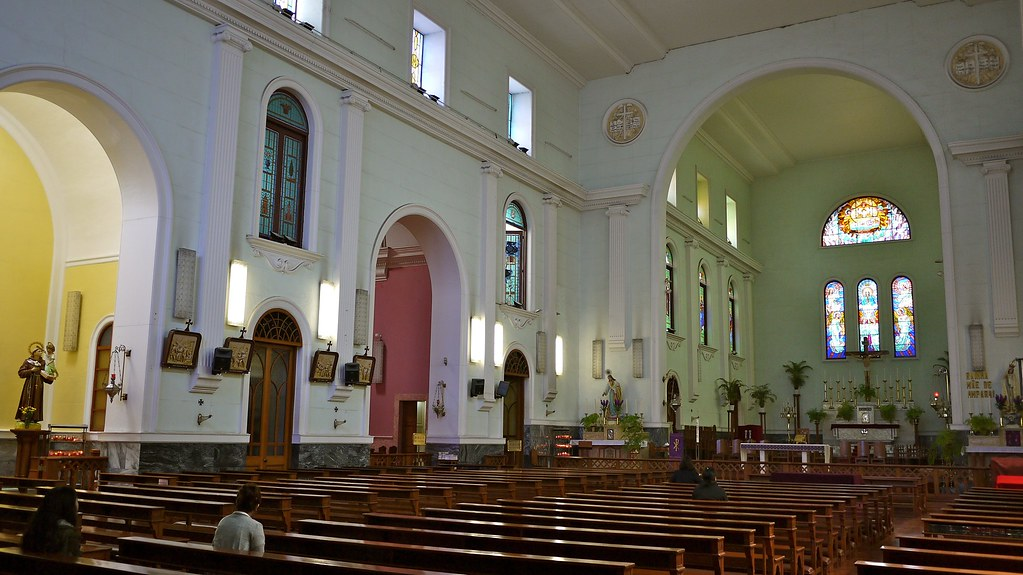 Inside Macau Cathedral