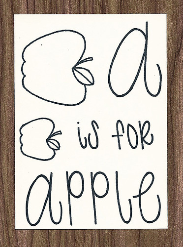 A is for Apple ACEO