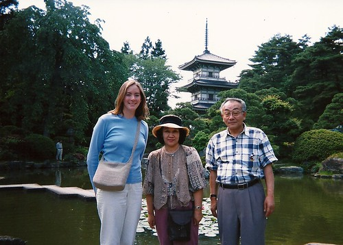 The Aitas and me, Sendai, Japan, 1998