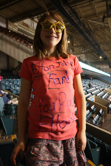the ultimate 11-year-old elton john fan