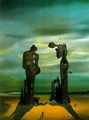 Salvador Dali Archeological Reminiscence of Millet Angelus