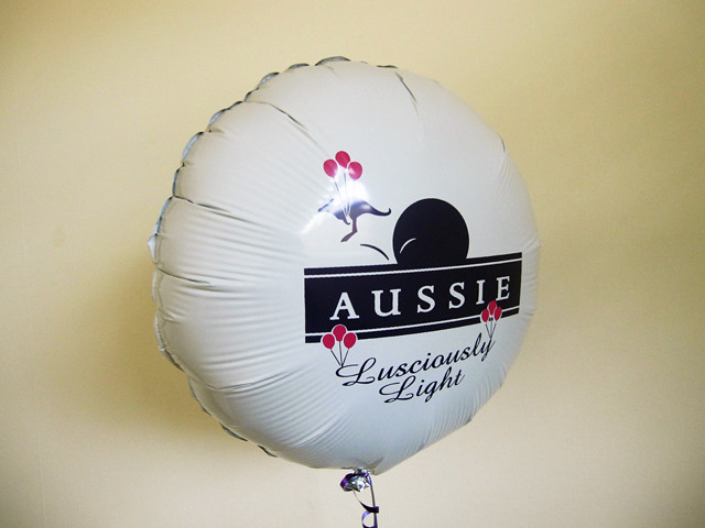 aussie hair balloon