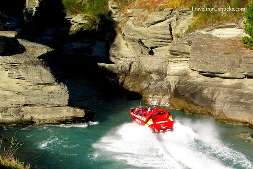 Shotover Jet, Queenstown New Zealand
