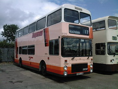 GM Buses 5320, D320 LNB (DoncasterDarts) Tags: metrobus mcw gmbuses northerncounties d320lnb