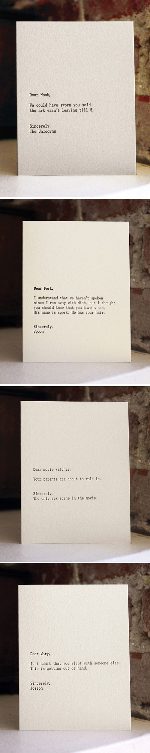 Dear Blank