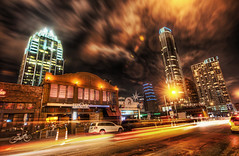 The New Austin (Stuck in Customs) Tags: world travel usa southwest west cars bar clouds digital speed america austin photography lights restaurant march blog high downtown cityscape texas traffic dynamic stuck bright south united capital north central neighborhood processing dining imaging nightlife states range hdr tutorial trey travelblog customs 2011 ratcliff traviscounty coloradostreet hdrtutorial stuckincustoms treyratcliff stuckincustomscom nikond3x tenoak