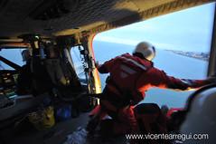 Ejercicio terminado, en 20 minutos, rescatados y dejados a salvo en manos de la Cruz Roja en el muelle.