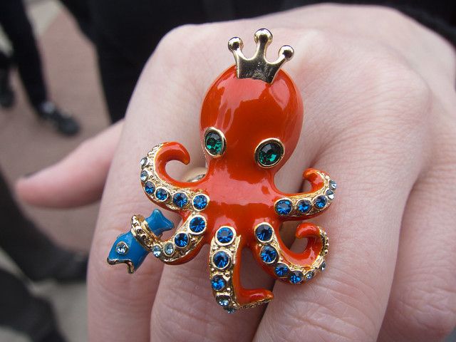 Violet Blue's Octopus Ring