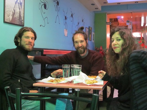 Jeremie, Apostolos, and Vassiliki