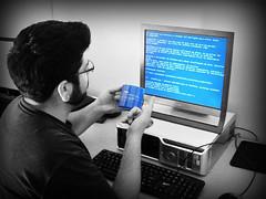 Windows Crash (Linux Mall) Tags: windows error crash bsod
