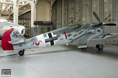 G-BWUE - 223 - Old Flying Machine Company - Hispano HA.1112-M1L Buchon - 061112 - Duxford - Steven Gray - CRW_0304